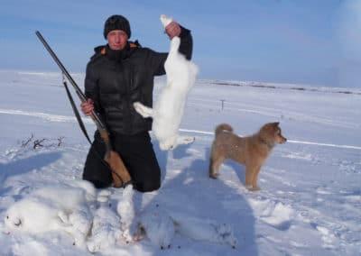 Зимняя охота в Заполярье