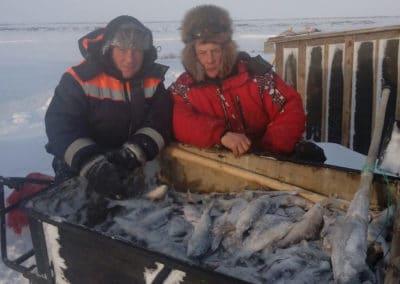 зимняя рыбалка в заполярье